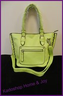 tas mini shopper groen